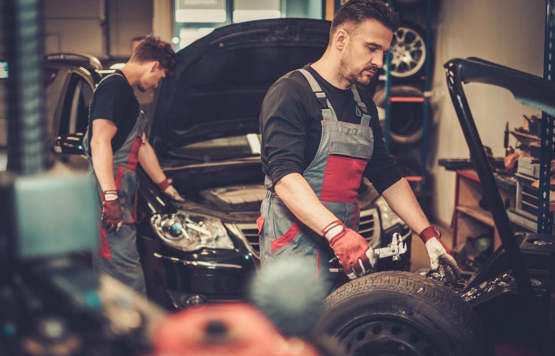 Self-employed mechanic