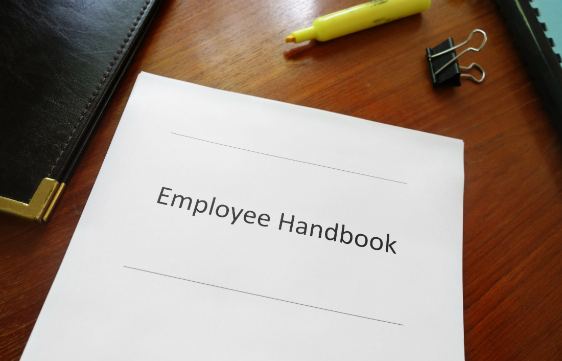 Blow the dust off your employee handbook